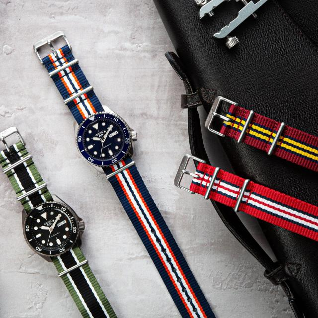 The new Nato Strap Collection from Seiko