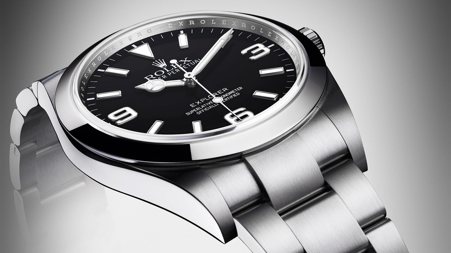 Rolex Explorer field watch