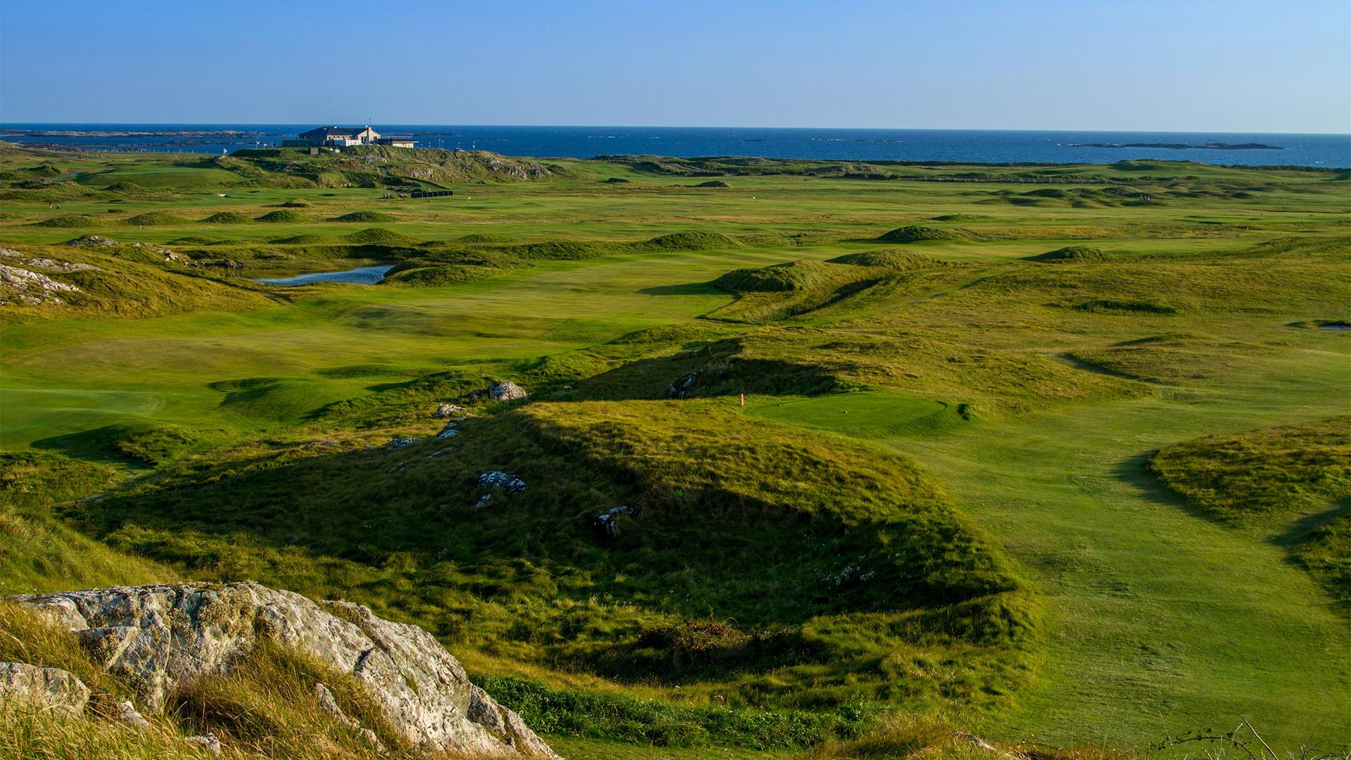 Connemara Golf Links, best golf in west Ireland