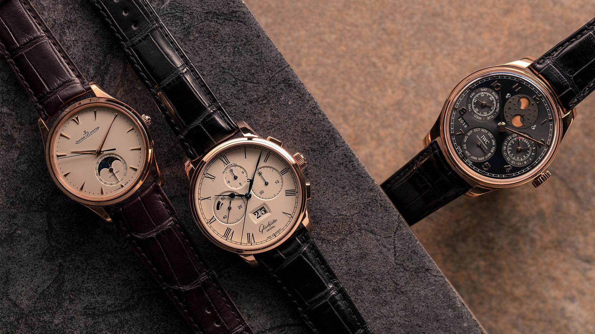 Best rose gold watches – Jaeger-LeCoultre, Glashutte Originals, IWC