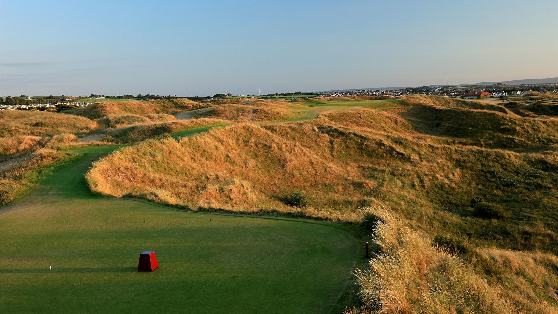 Royal Portrush, 16th hole, Dunluce Links golf course