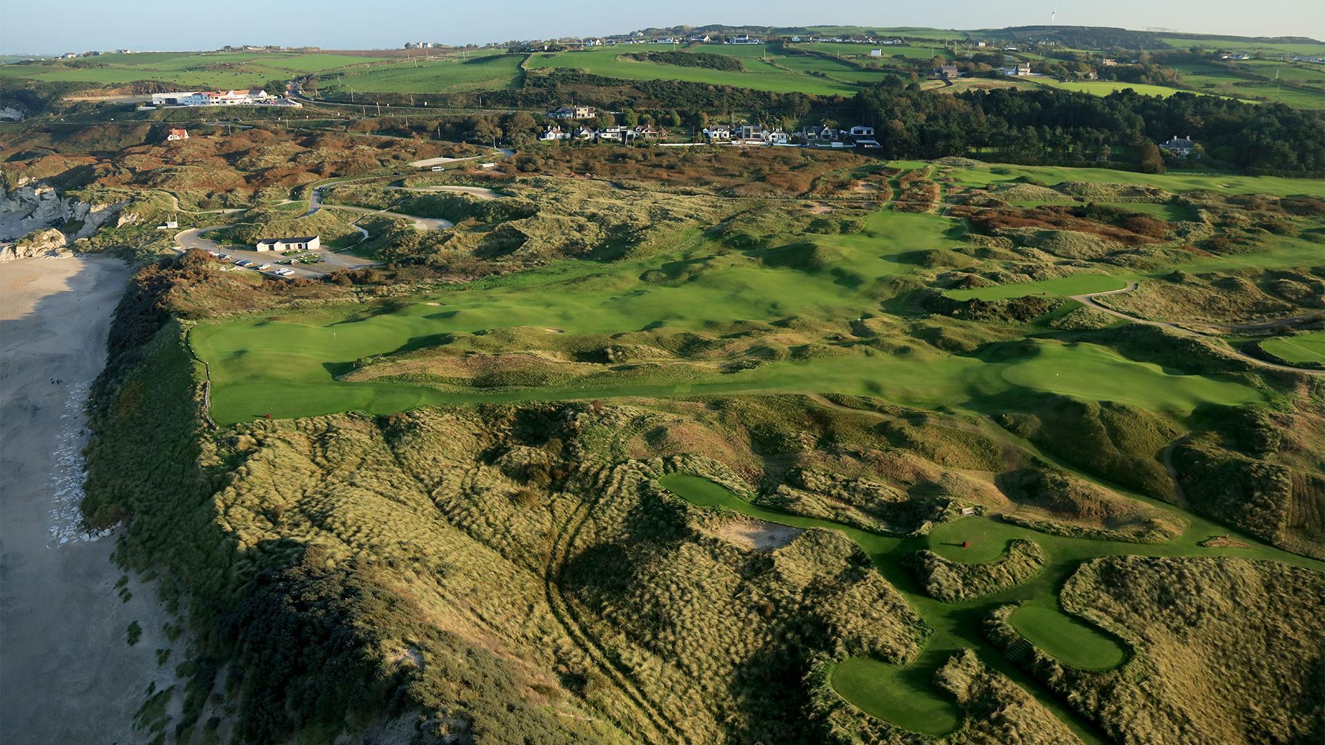Royal Portrush, 5th hole, Dunluce Links golf course