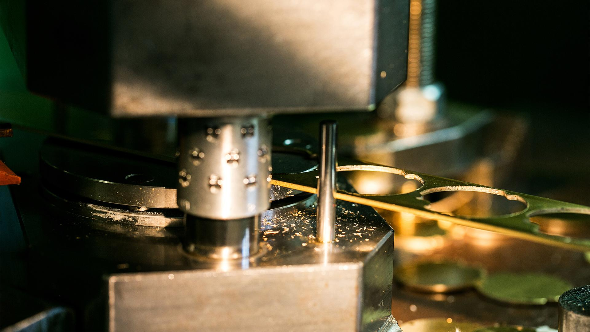 Production process at Jaeger-LeCoultre watch factory