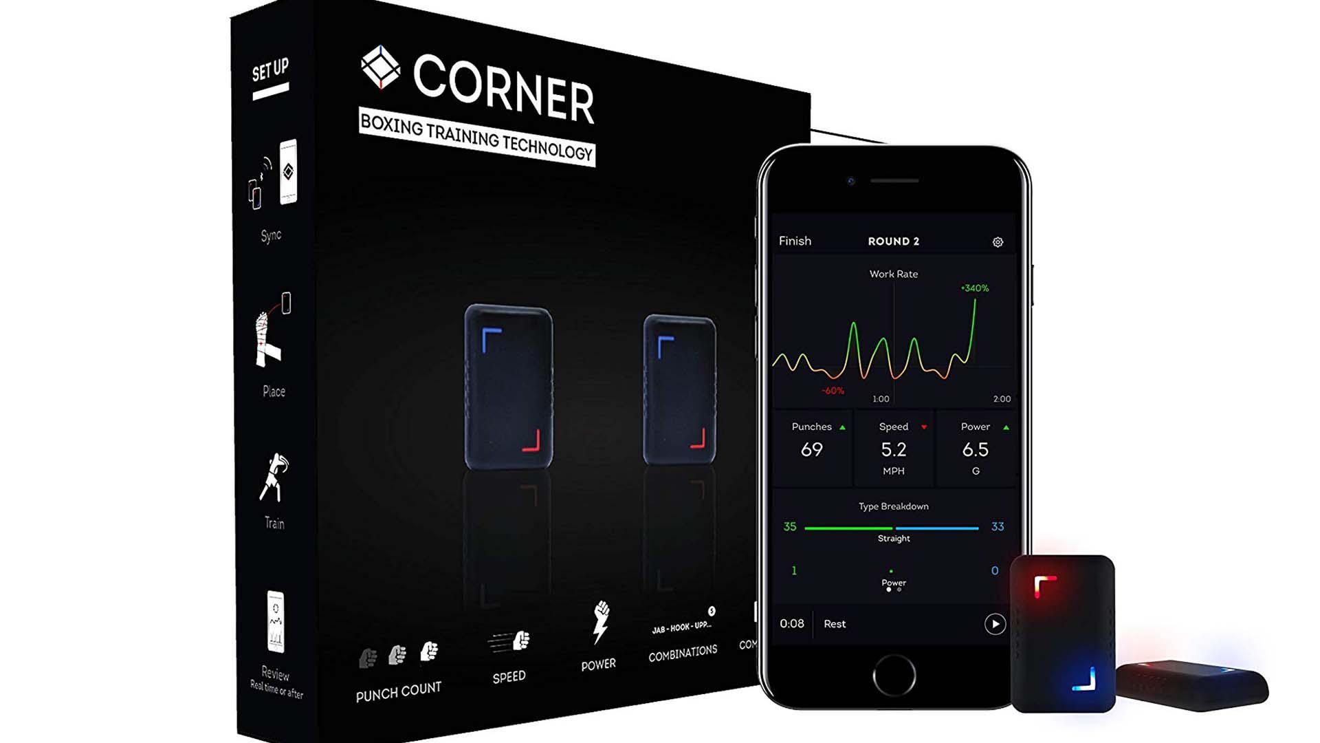 Corner punch tracker