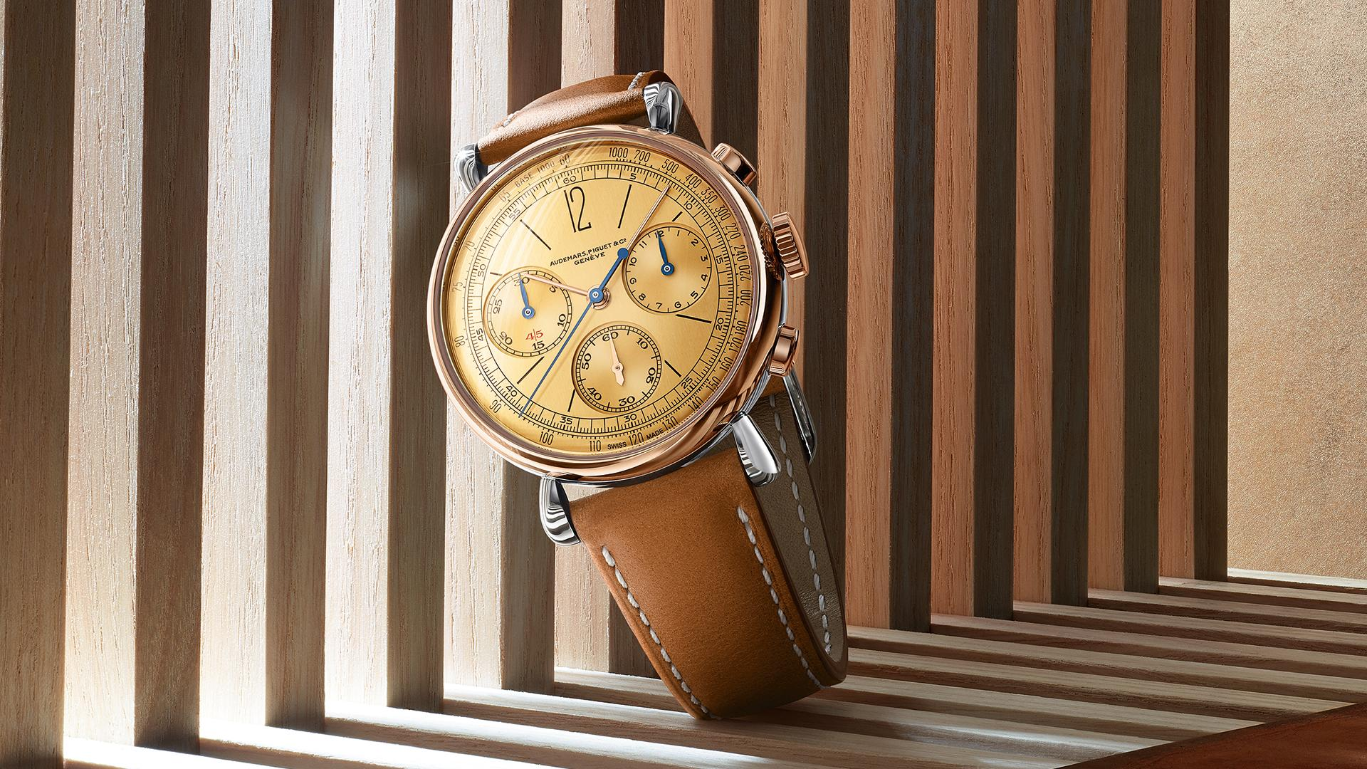 Audemars Piguet [Re]master01 Self Winding Chronograph watch review