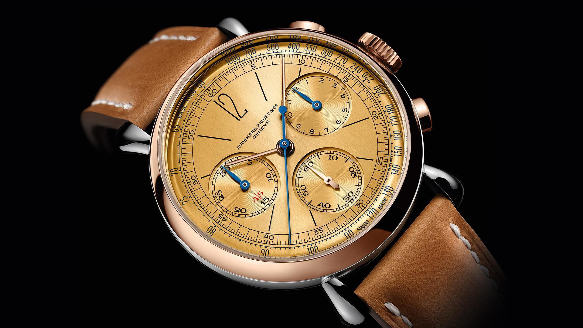 Audemars Piguet [Re]master01 Self Winding Chronograph watch