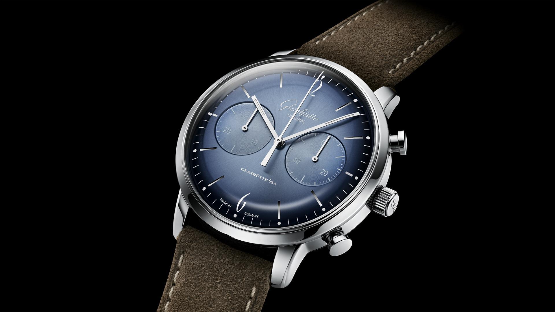 Glashütte Original Sixties Chronograph watch