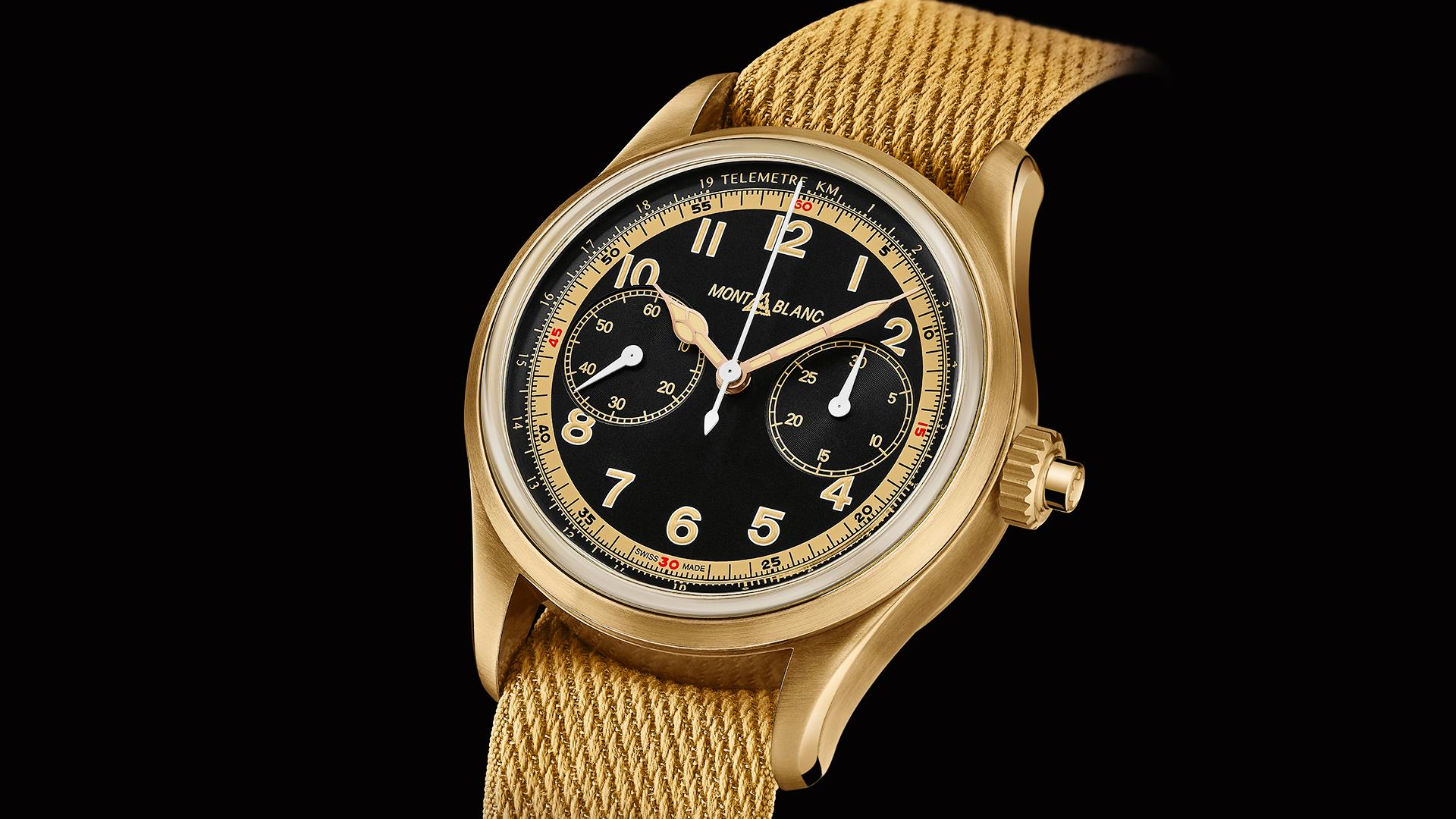 Montblanc 1858 Monopusher Chronograph watch