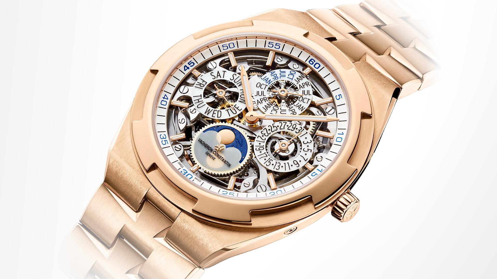 Vacheron Constantin Overseas Perpetual Calendar Ultra-Thin Skeleton sports watch