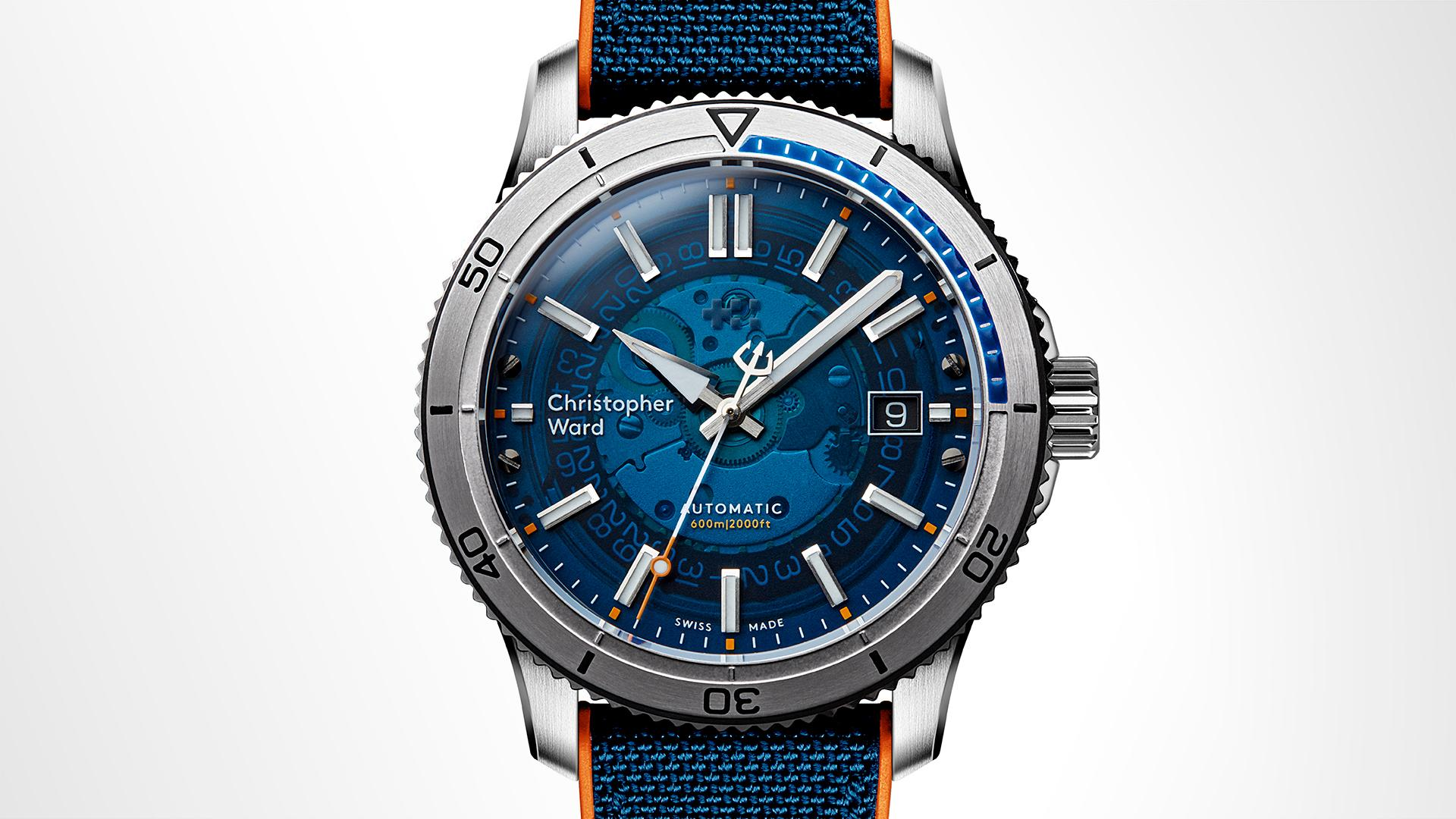 Christopher Ward C60 Sapphire dive watch