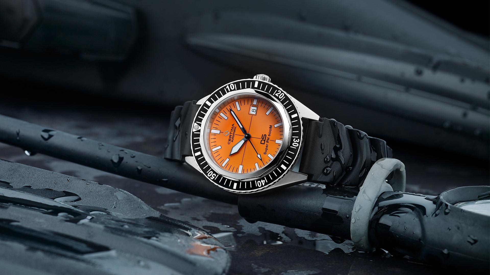 Certina DS Super PH500m dive watch