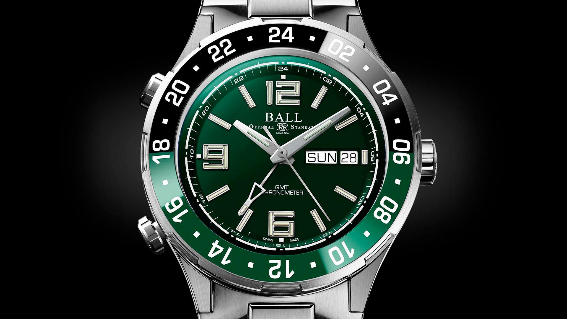 Ball Watches Roadmaster Marine GMT watch