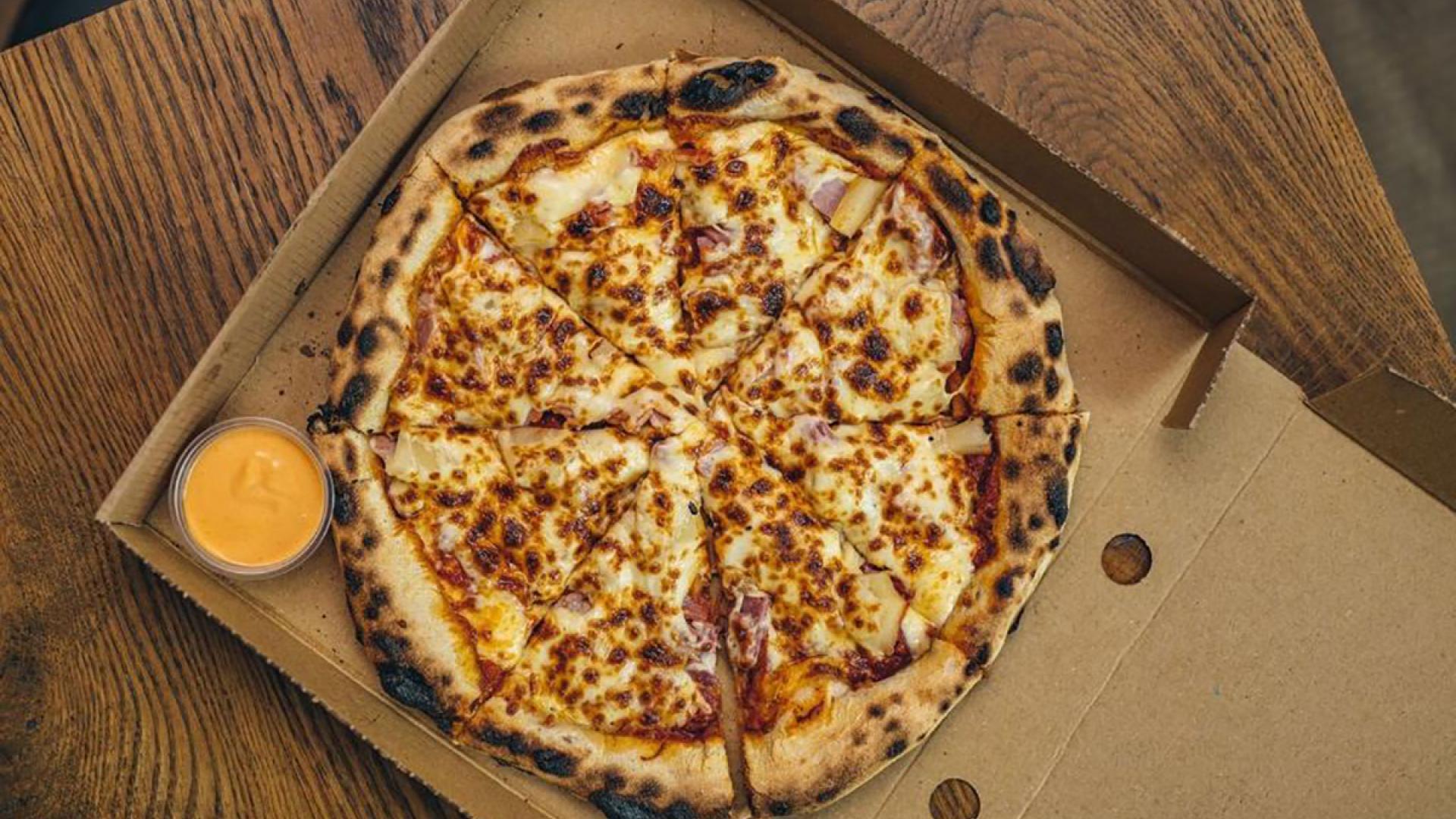 Giz & Green pizza