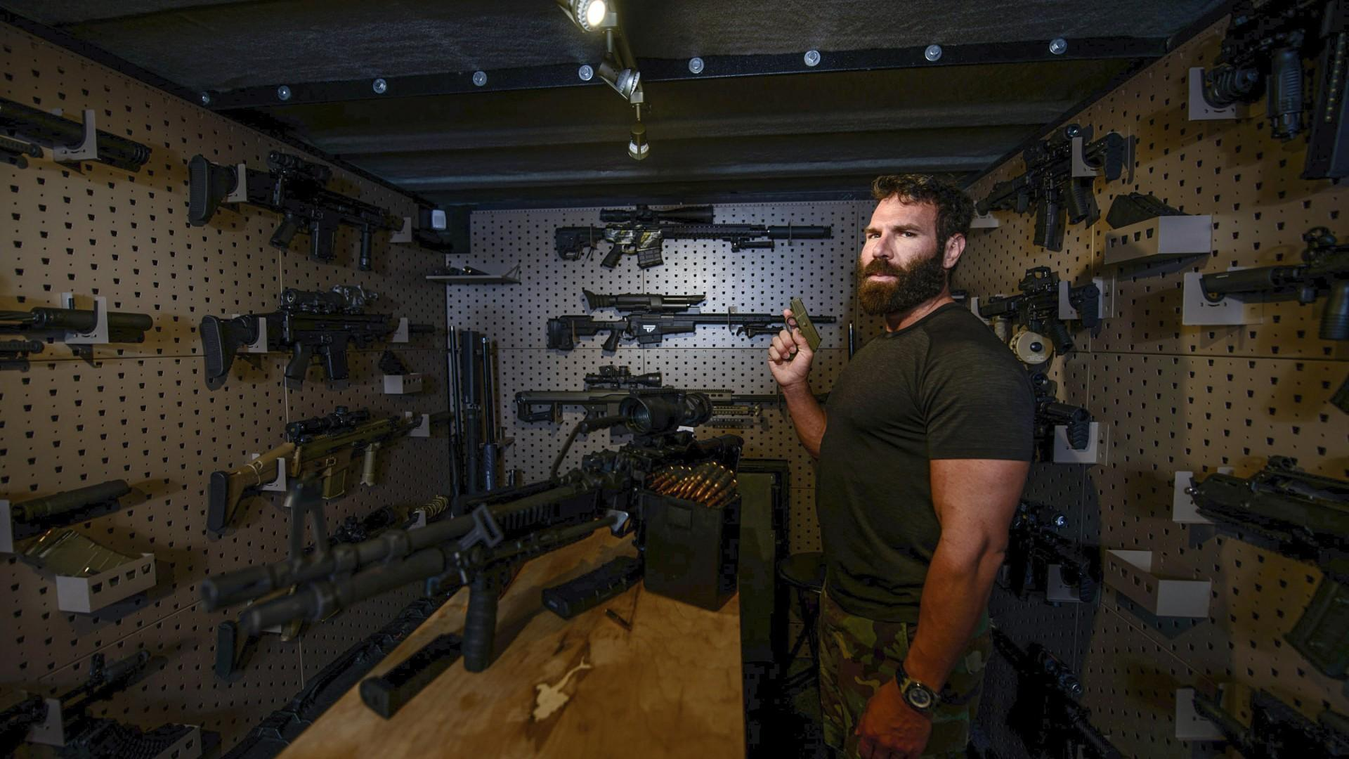 Dan Bilzerian photographed by Dustin Snipes for Square Mile magazine