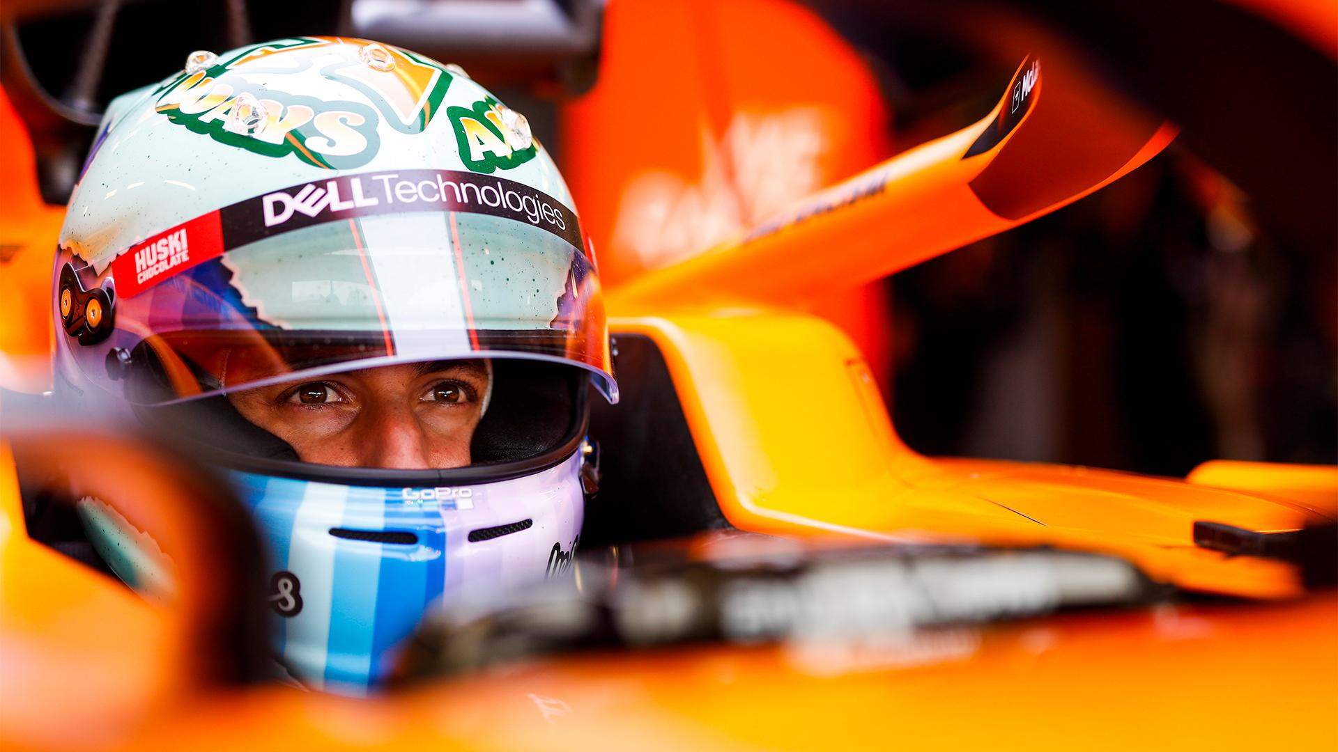 Formula One McLaren racing driver Daniel Ricciardo interview