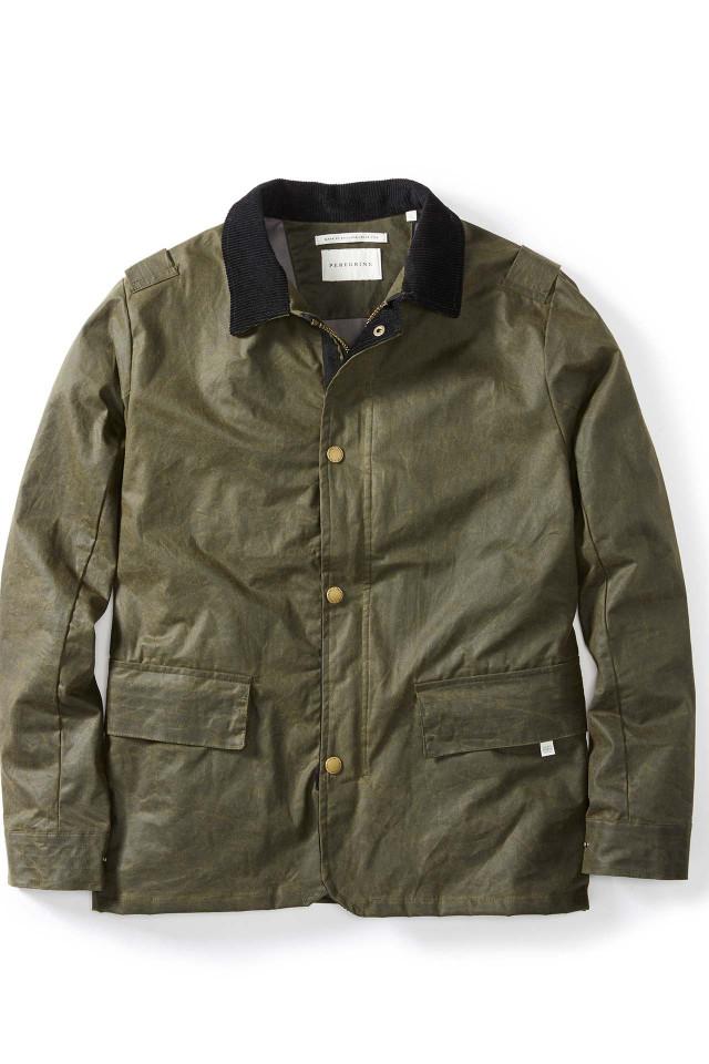 Winter jacket: Peregrine, Boarder wax jacket