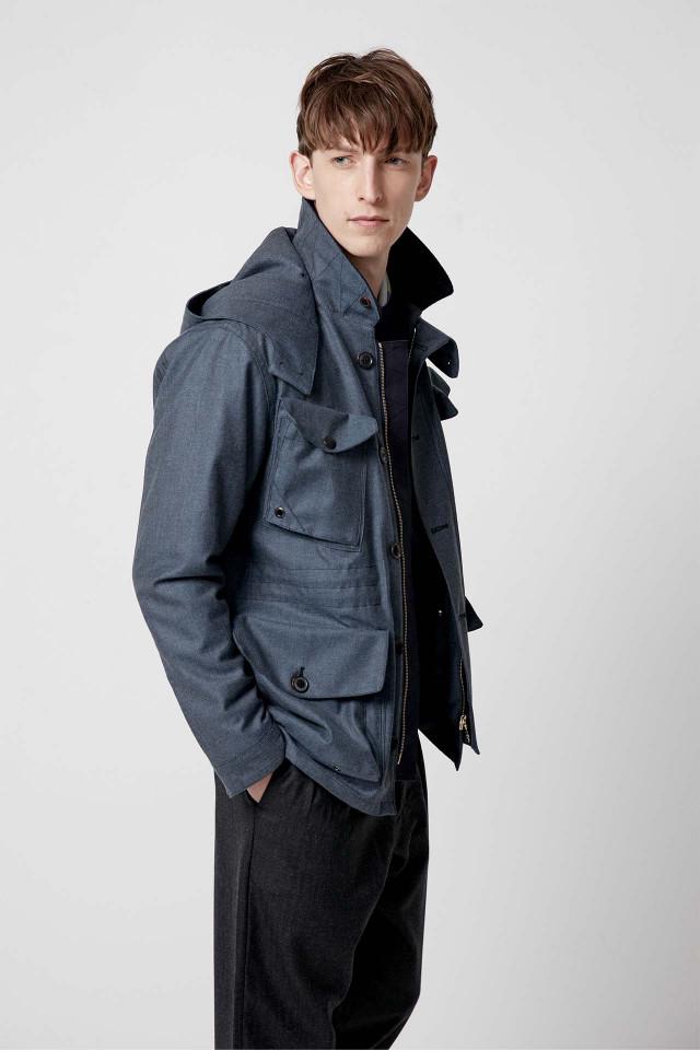 Winter jacket – The Workers Club, RAF Blue Field Jacket