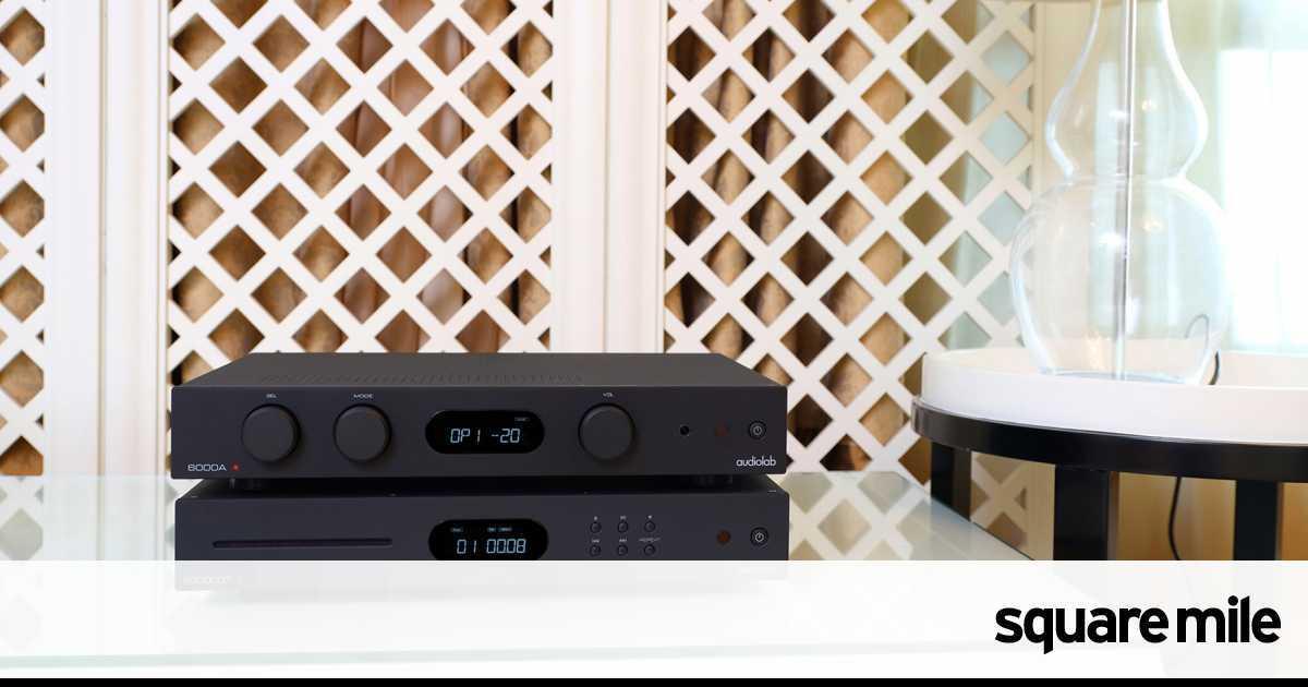 Audiolab 6000A hi-fi amplifier: gear review | Square Mile