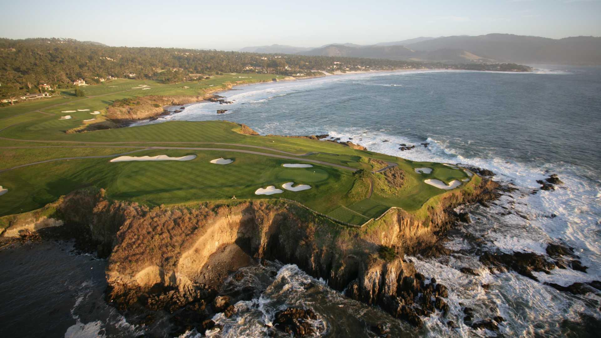 Pebble Beach golf links, Pebble Beach, United States of America