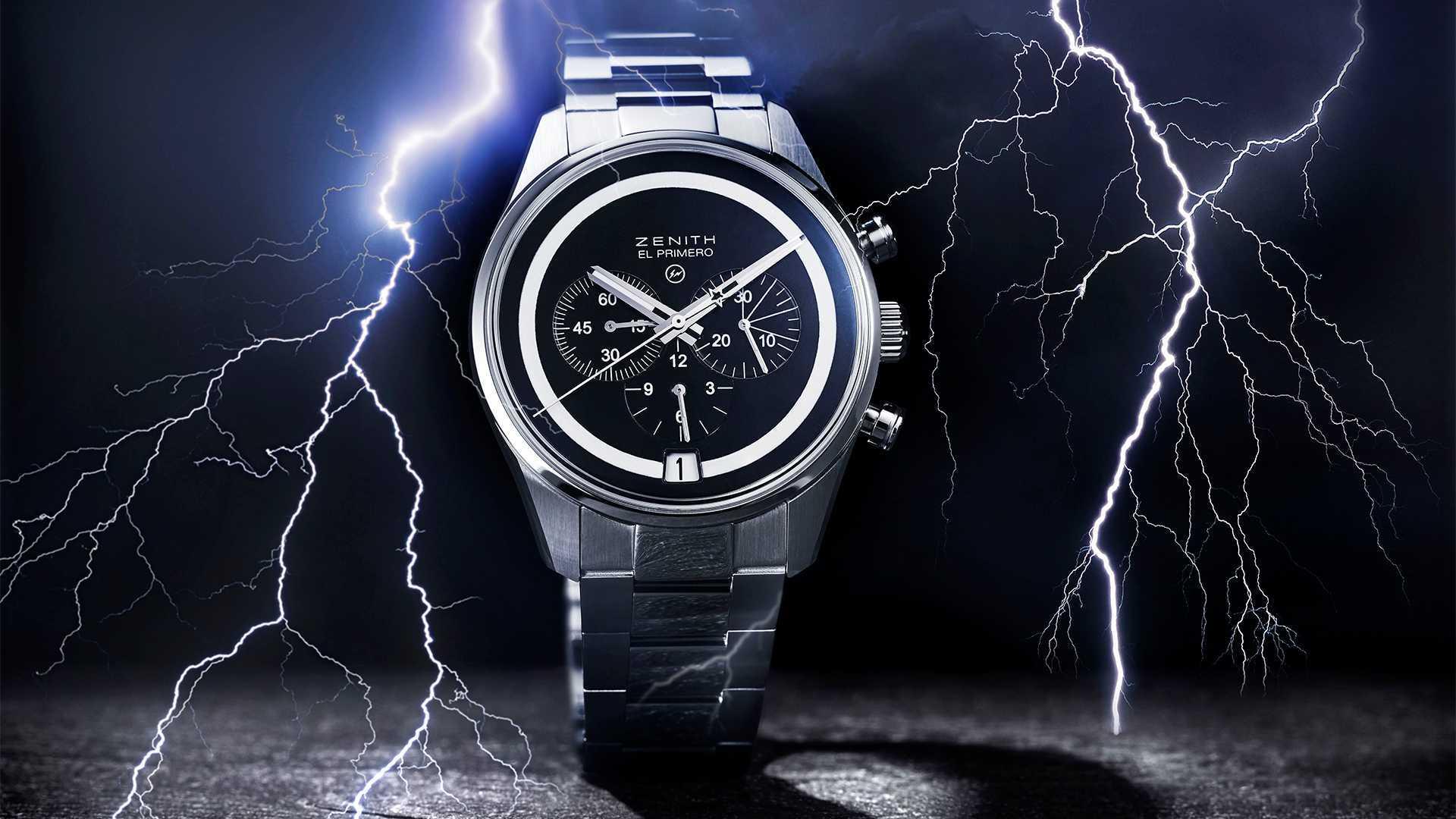 Bamford Watch Department x Fragment Design x Zenith El Primero