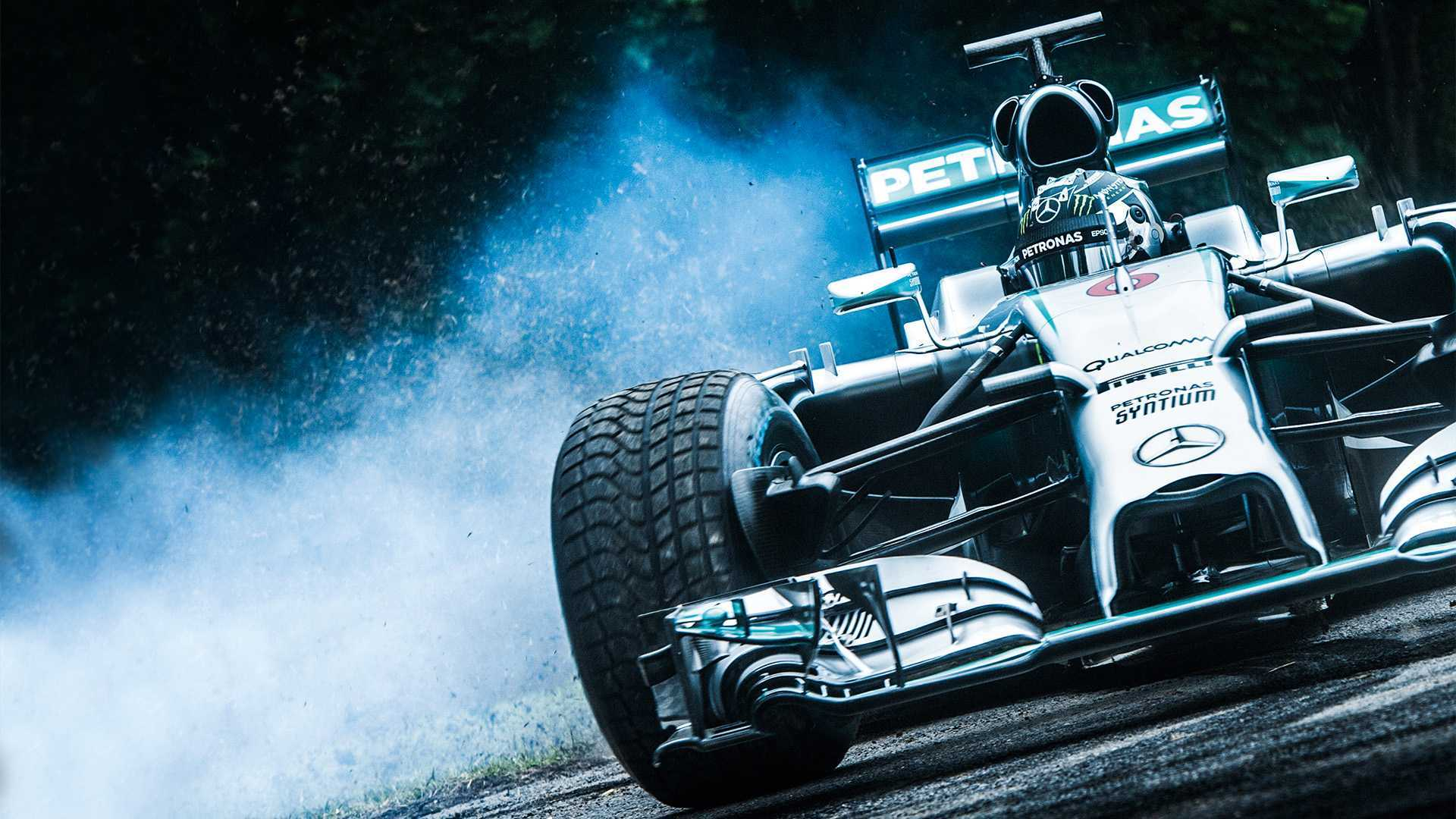 Goodwood Festival of Speed 2018 Mercedes Formula 1