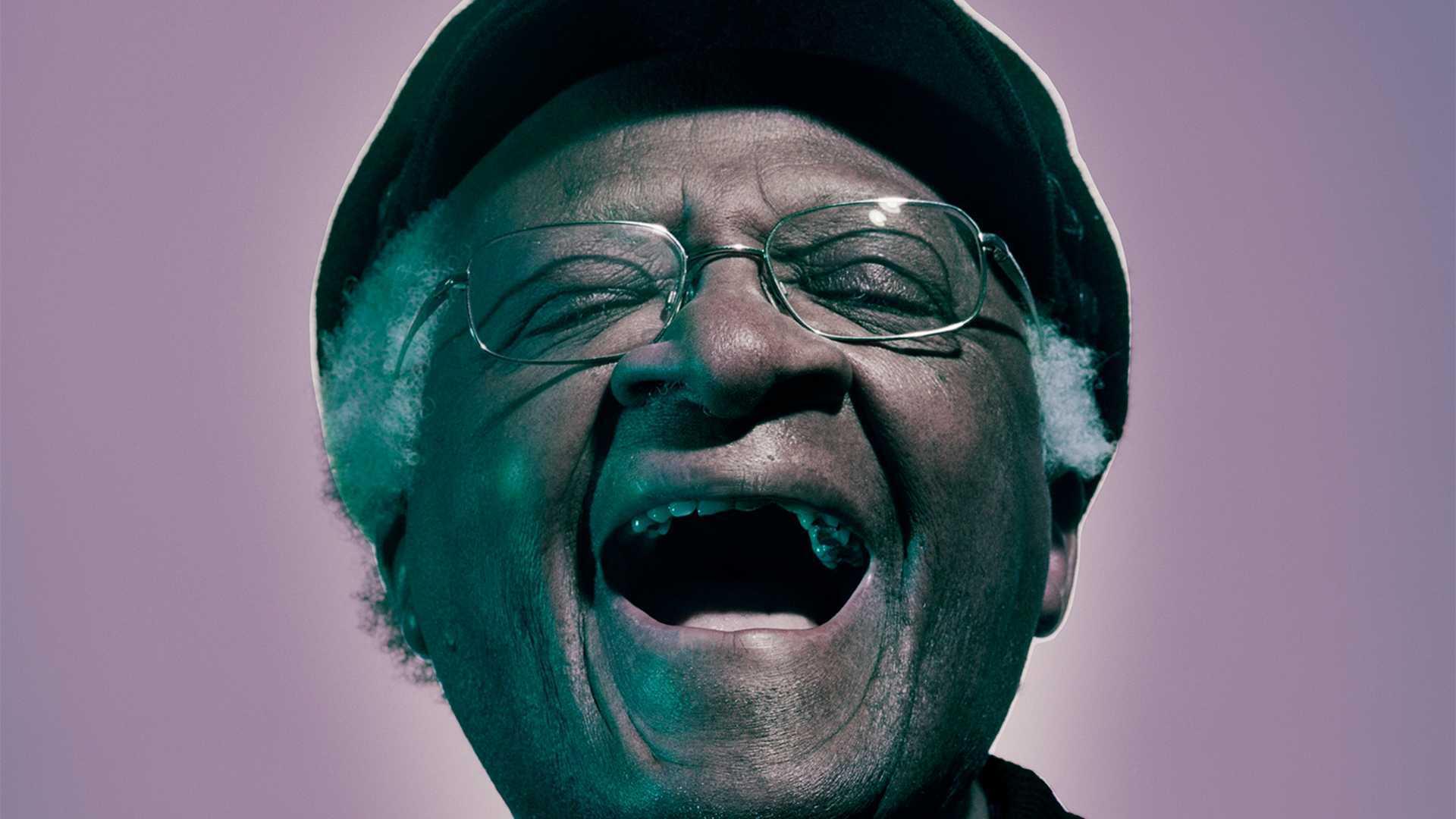 Desmond Tutu, London, 2004