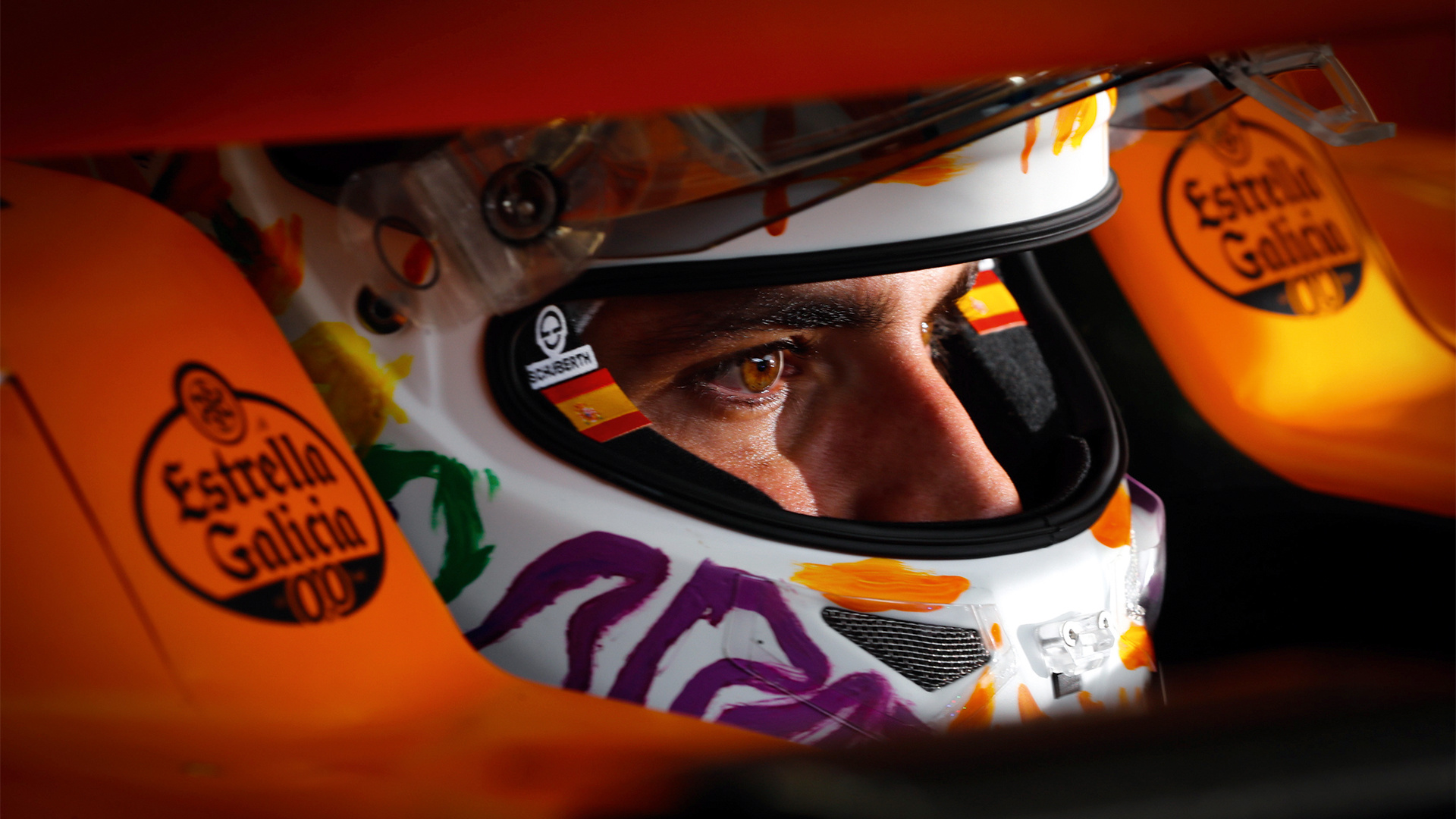 Carlos Sainz McLaren driver and new Ferrari F1 2021 recruit