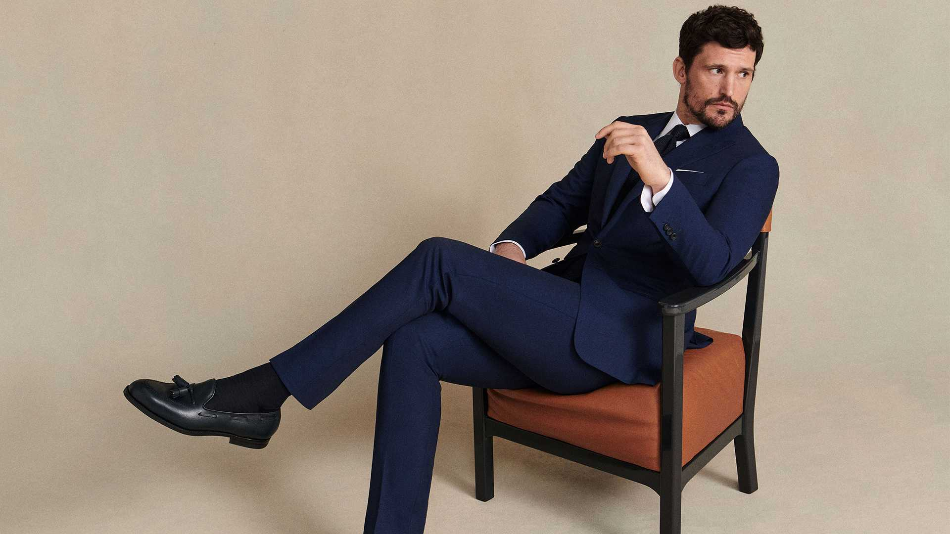 Thom Sweeney tailors bespoke suits