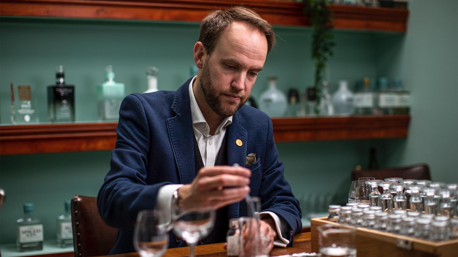 William Lowe, MW and Master Distiller at Cambridge Distillery