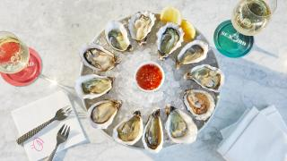 Seabird restaurant: the oysters