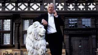 John Caudwell, millionaire businessman and founder of Phones 4 U outside his home (Photo by In Pictures Ltd./Corbis via Getty Images)