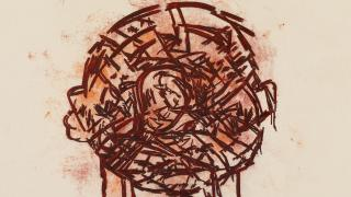 Tony Bevan art work