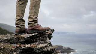CROCKETT & JONES Islay boots in Teak Oiled Sides, £500