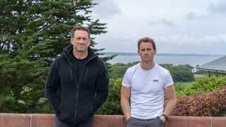 Bertie Basset and Jason Fox