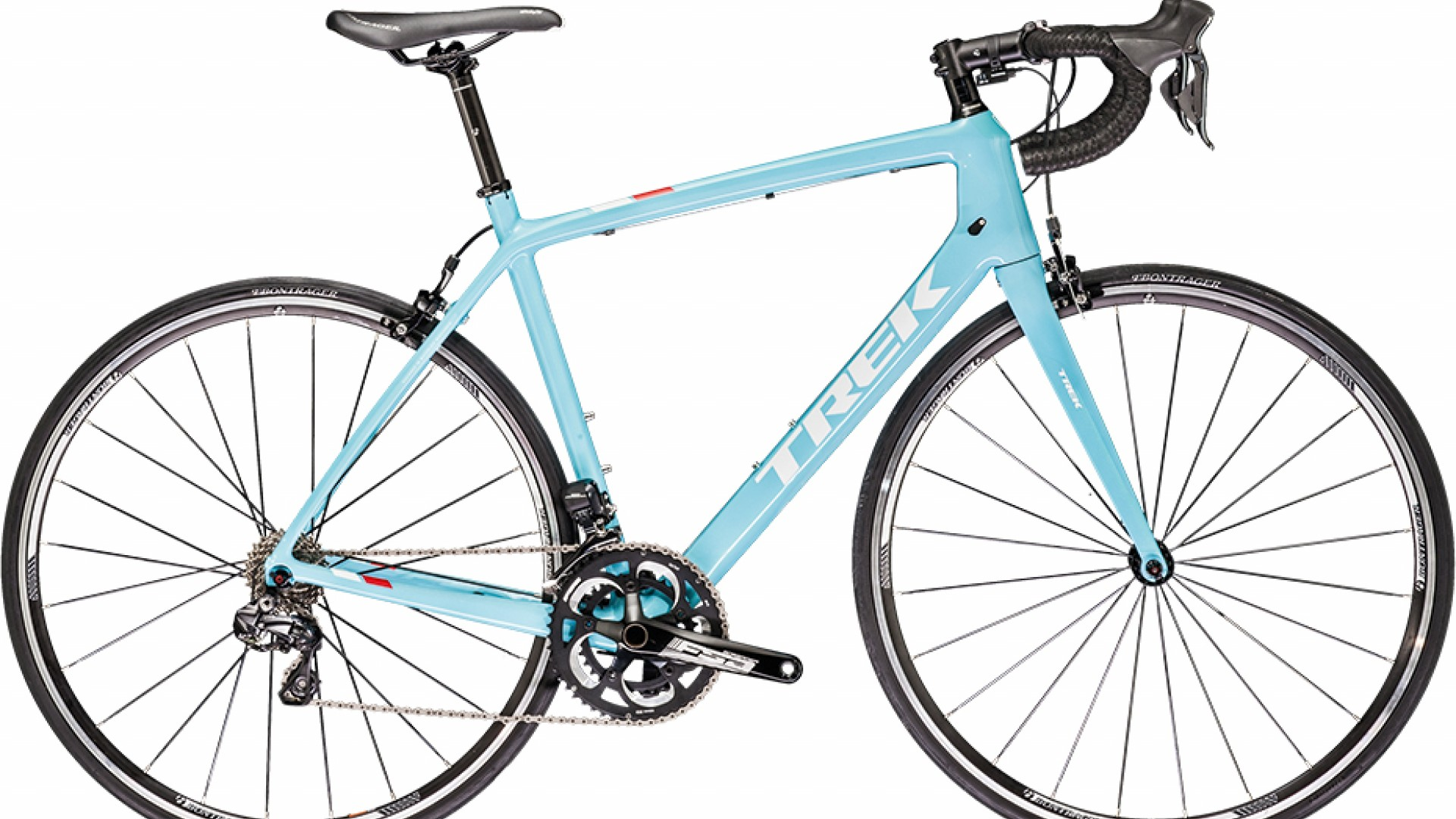 Trek Madone 4.9, £2,600  Named after a legendary climb, Trek's Madone is an icon in its own right. The 4.9 has electronic shifting and all-day comfort.