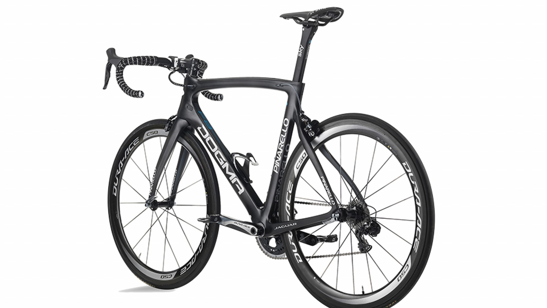 Pinarello Dogma F8 Di2, £9,500  Ridden by Team Sky for the Tour de France, the Italian team joined forces with Jaguar to make this beauty for the British team.