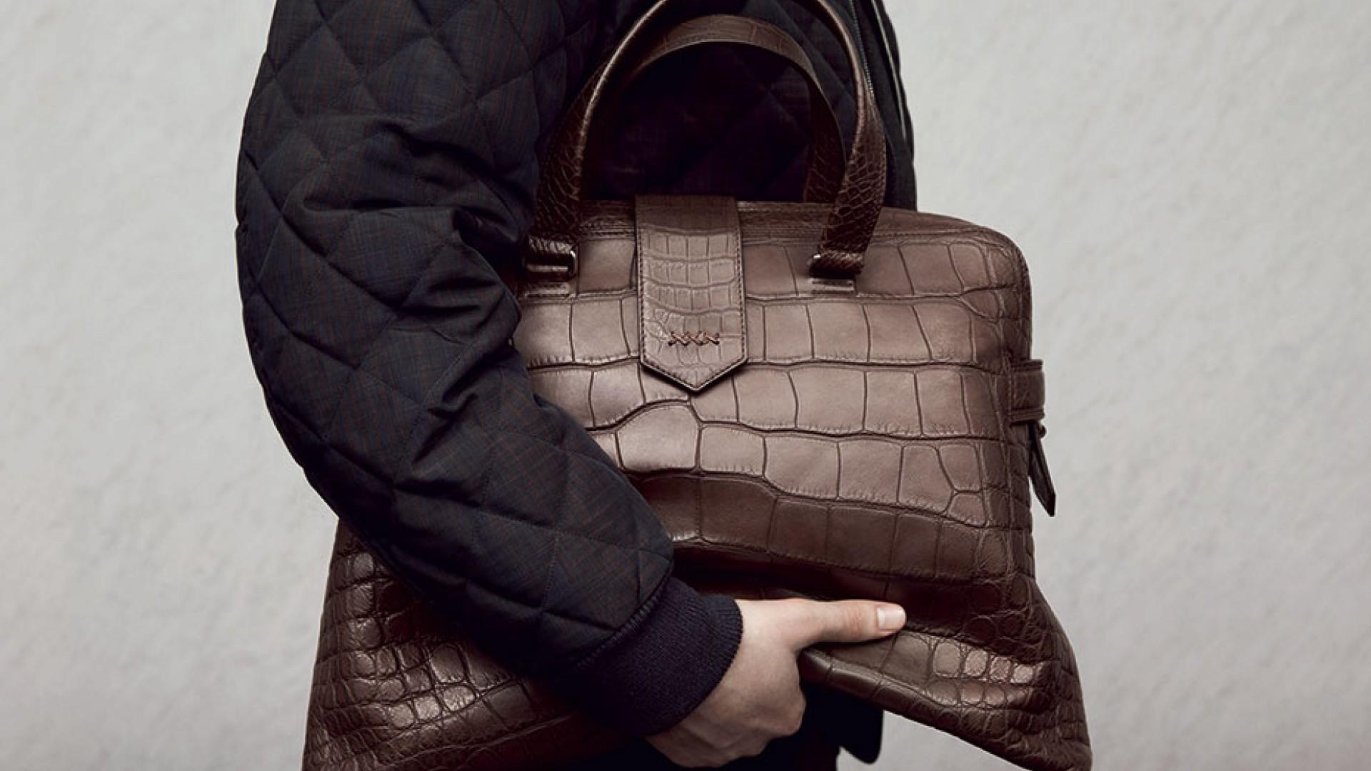 f0e53bc171e68 Couture man bags from Ermenegildo Zegna | Square Mile