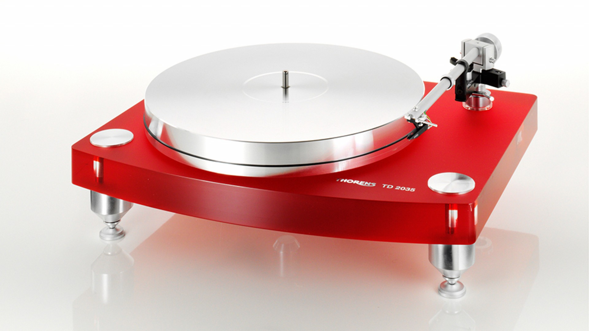 "THORENS TD 2015, £1,849, <a href=""http://www.hifigear.co.uk/thorens-td-2015-belt-drive-turntable.html"" target=""_blank"">HIFIGEAR.CO.UK</a>"
