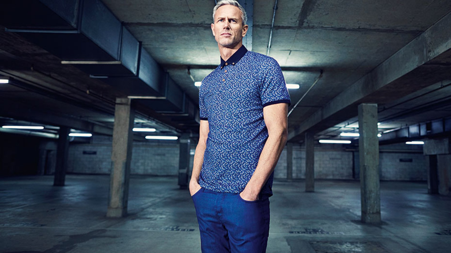 Mark Foster is the face of Ted Baker\'s T for Tall range | Square Mile