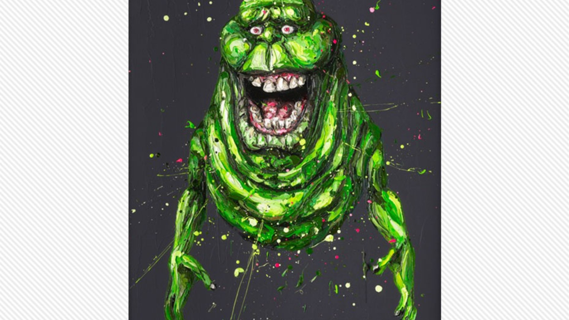 Slimer by Paul Oz