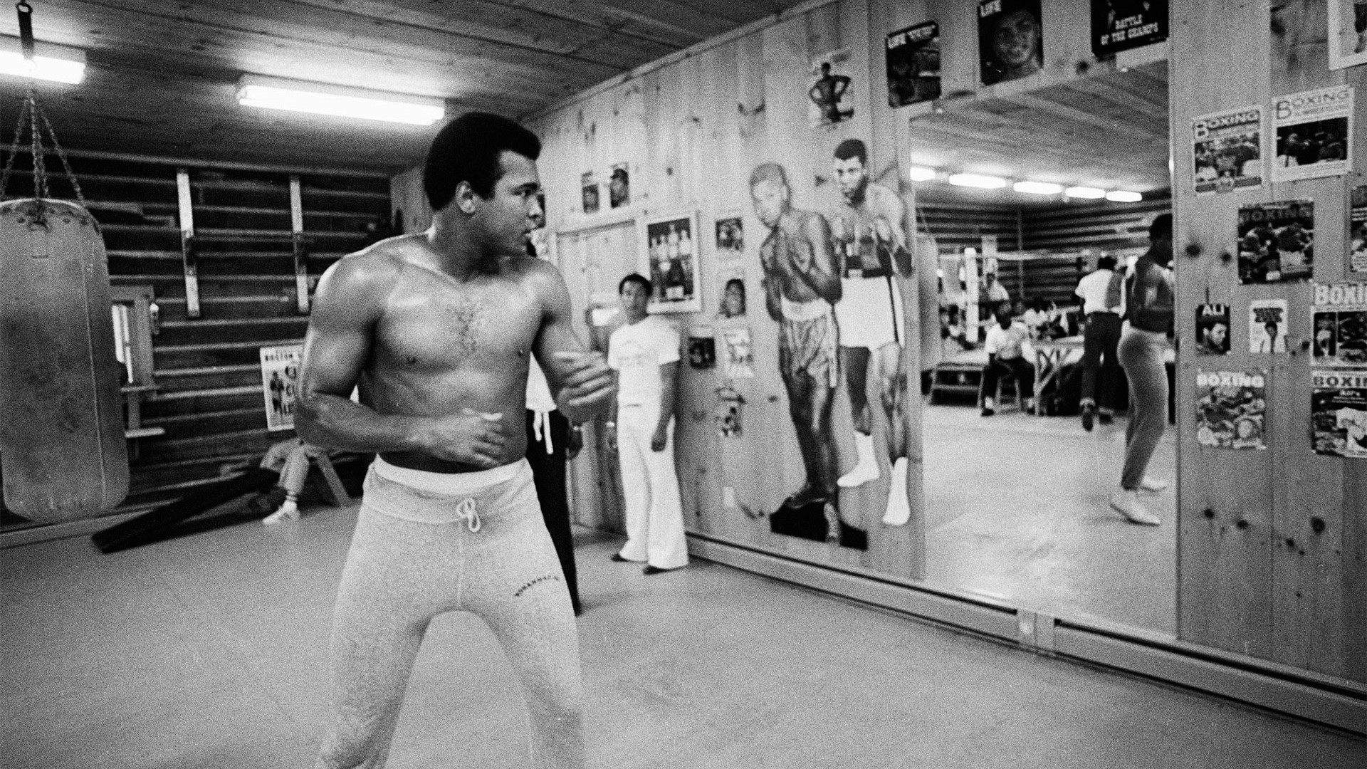 Photos Of Muhammad Ali At Fighters Heaven (1974)