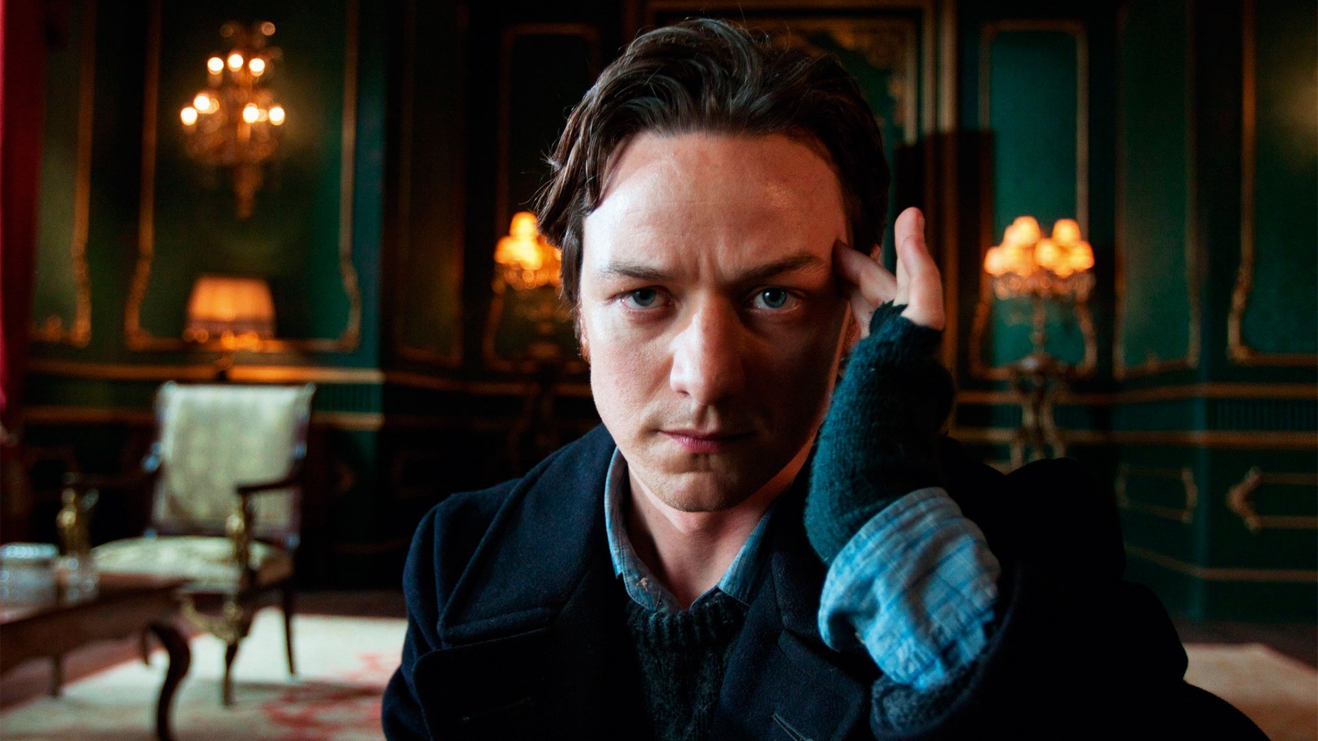 James McAvoy reprises his role as Professor Charles Xavier in X-Men: Apocalypse