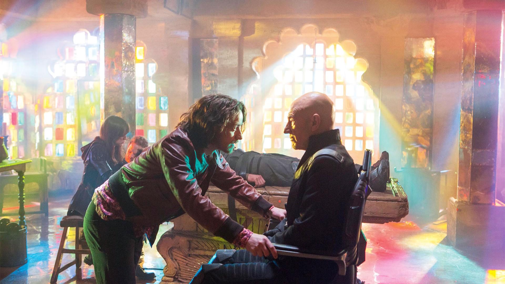 James McAvoy and Sir Patrick Stewart have both played Professor Charles Xavier in X-Men