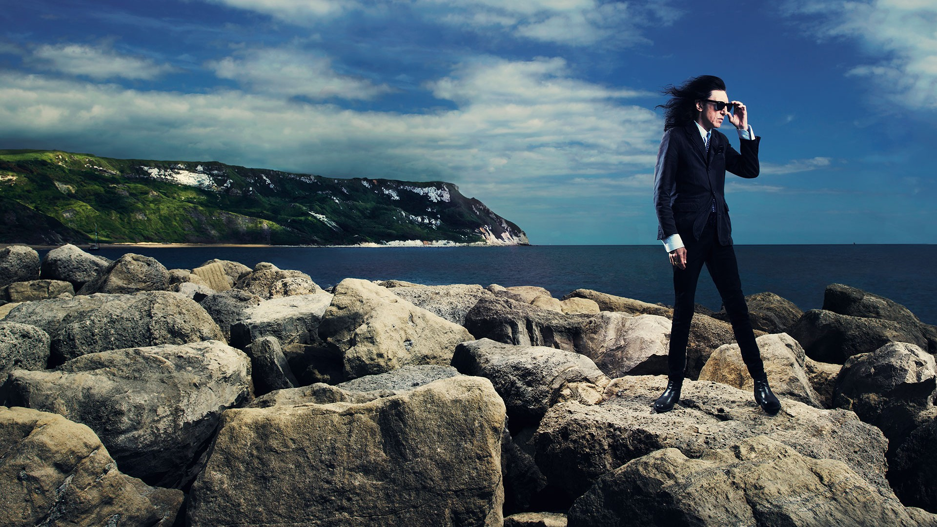 John Cooper Clarke photography by Tom Oldham