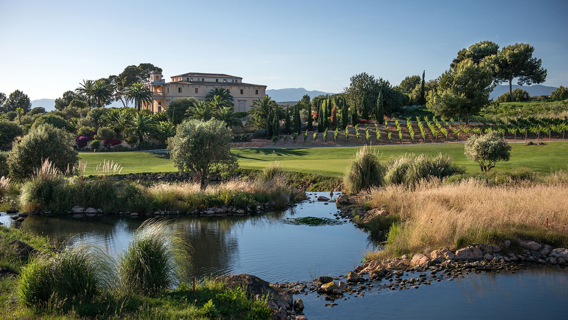 Son Gual golf course, Mallorca