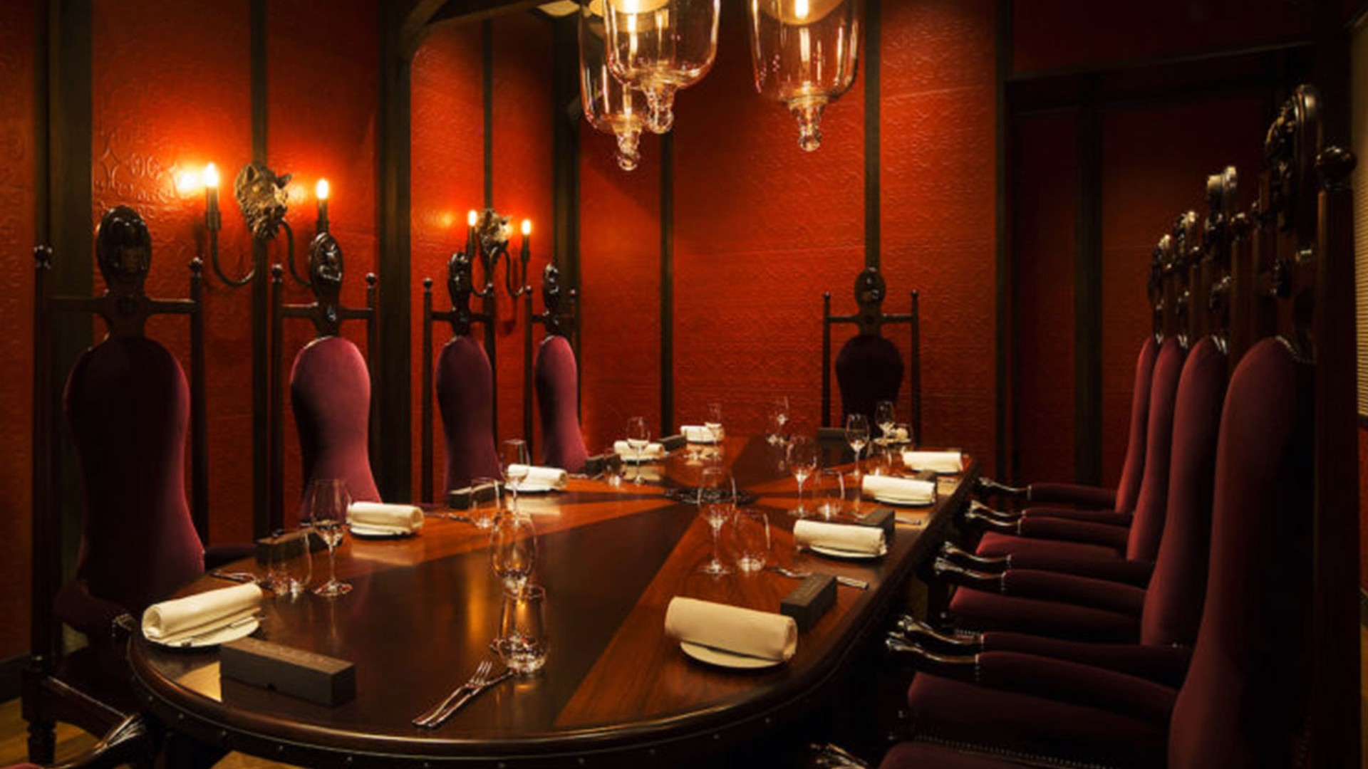 Private dining table at Dinner by Heston Blumenthal