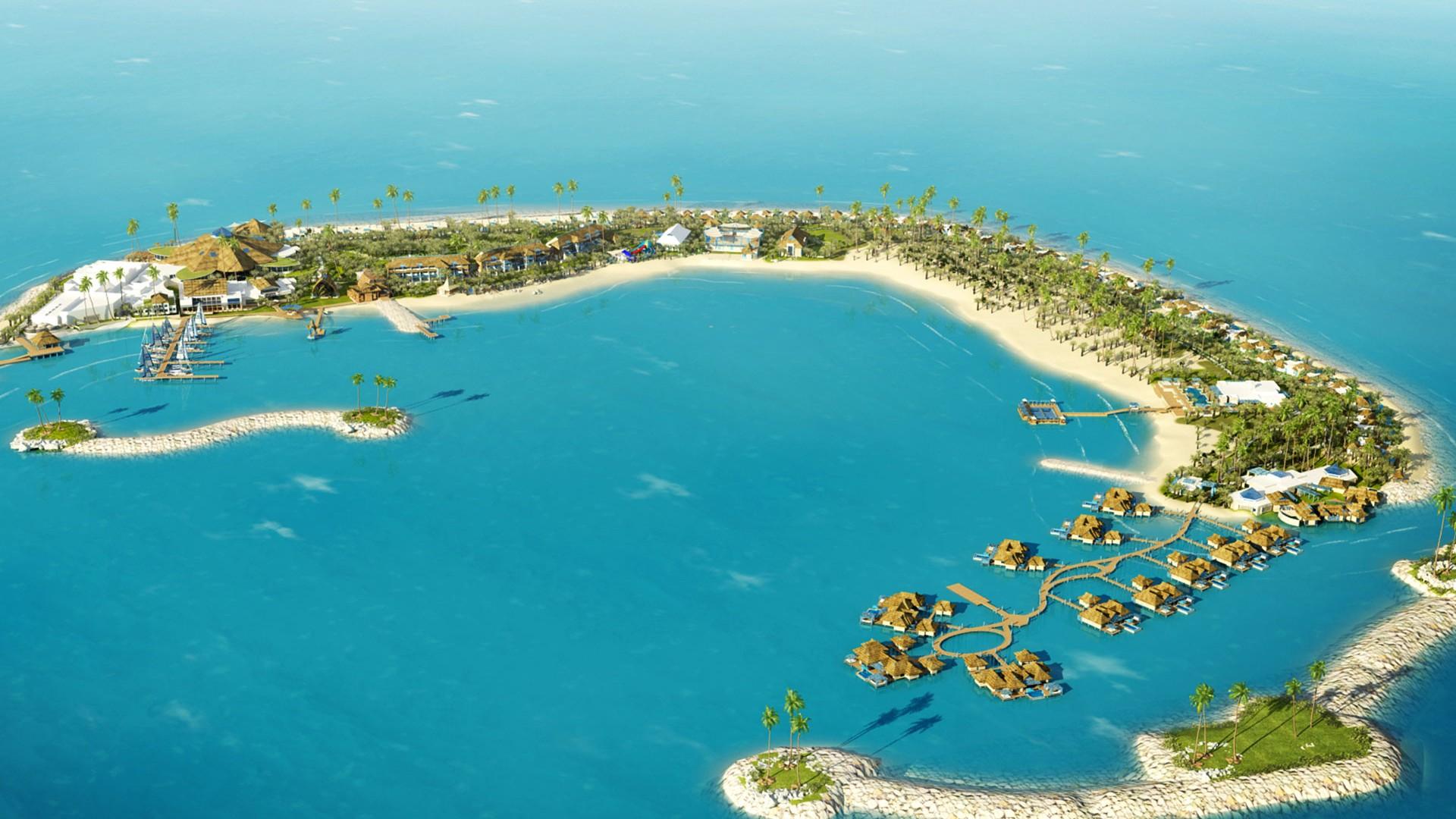 Banana Island Resort in Doha