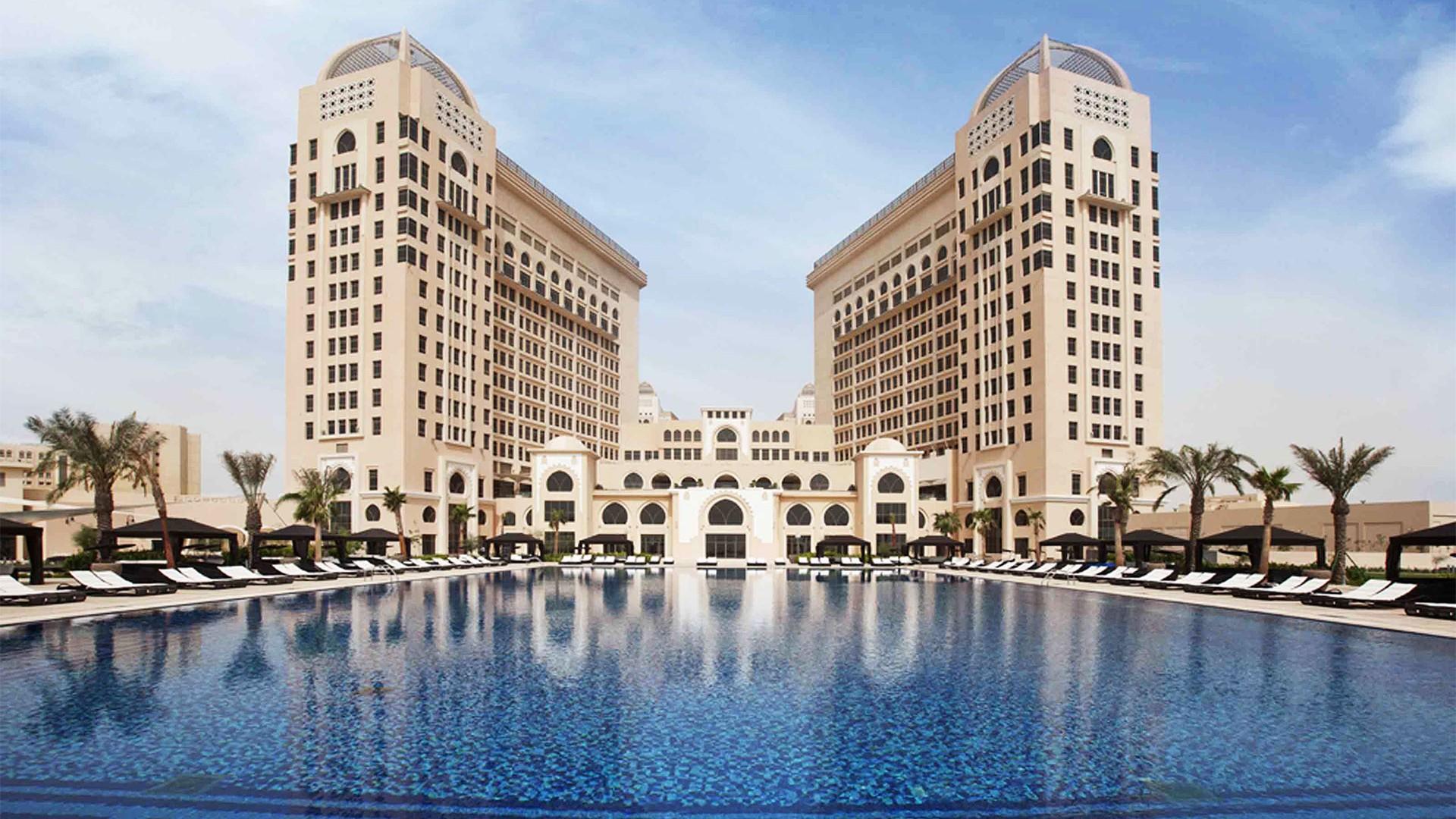 Pool at St Regis Hotel Doha