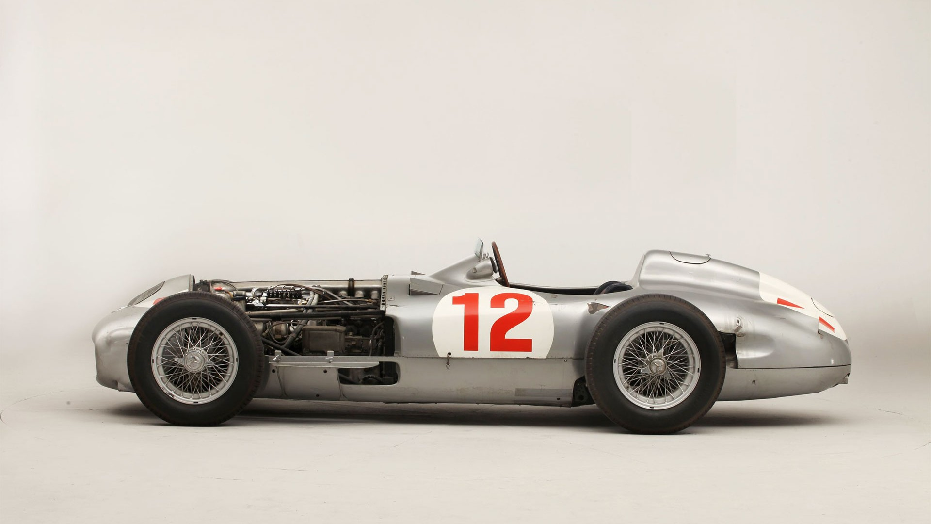 Ex-Fangio Mercedes Benz