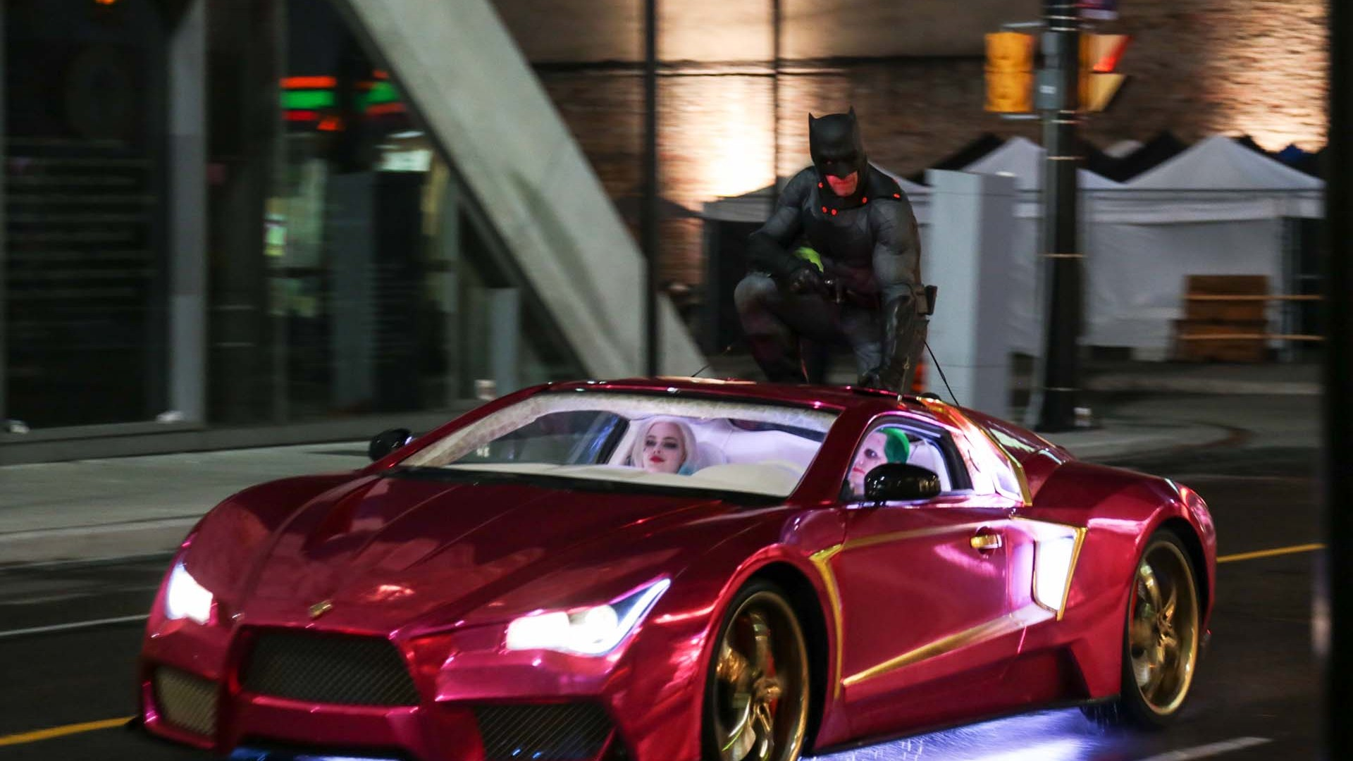 Why The Joker S Car Is The Star Of Suicide Squad Square Mile
